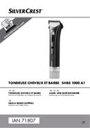 Página 1 do SilverCrest SHBS 1000 A1