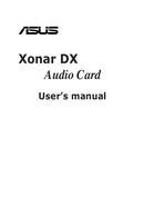 Asus Xonar DX/XD side 1