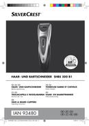 SilverCrest SHBS 500 B1 sivu 1