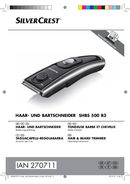 SilverCrest SHBS 500 B2 sivu 1