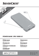 Página 1 do SilverCrest SPB 10000 A1