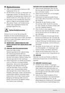 Página 5 do SilverCrest SRW 10 A1