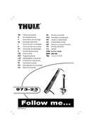 Página 1 do Thule 973-23