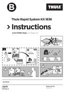 Pagina 1 del Thule Kit 1836