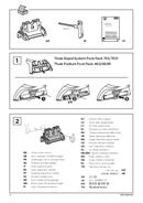 Pagina 2 del Thule Kit 4029 Flush Railing