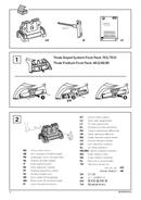 Pagina 2 del Thule Kit 4035 Flush Railing