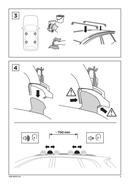 Pagina 3 del Thule Kit 4035 Flush Railing