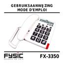 Pagina 1 del Fysic Big Button FX-3350