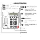Pagina 3 del Fysic Big Button FX-3350