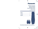 Panasonic ER2403K page 1