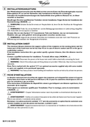 Página 1 do Whirlpool AKR 550/MR