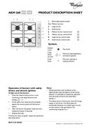 Página 1 do Whirlpool AKM260/IX