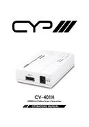 CYP CV-401H pagina 1