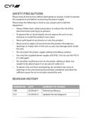 CYP CV-401H pagina 4