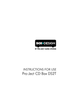 Pro-Ject DS2T page 1
