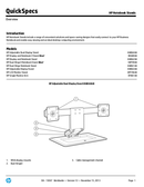 HP Adjustable Dual Display Stand page 1