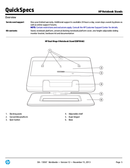 HP Adjustable Dual Display Stand page 5
