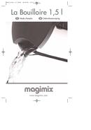Página 1 do Magimix La Bouilloire 1.5L