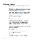 Honeywell EDA60K manual