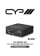 CYP PU-507RX-2H pagina 1