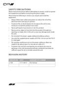 CYP PU-507RX-2H pagina 4