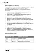 CYP PU-1109RX pagina 4