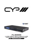 CYP PU-444HBTE pagina 1