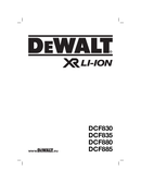 DeWalt DCF880 page 1