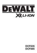 DeWalt DCF885 side 1