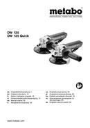 Metabo DW 125 Quick Seite 1