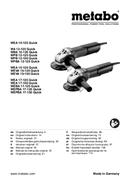 Metabo WEA 15-125 Quick sayfa 1