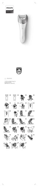 Philips Satinelle BRE611 sivu 1