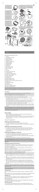 Philips Satinelle BRE611 sivu 2