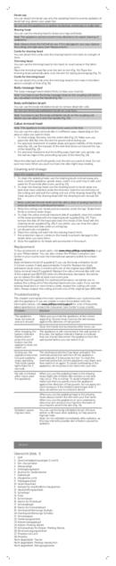 Philips Satinelle BRE611 sivu 3
