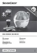 SilverCrest SEK 400 D2 page 1