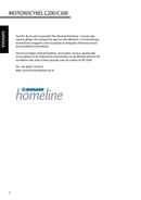monark homeline c200 test