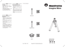 Manfrotto MBASECONVR sivu 1