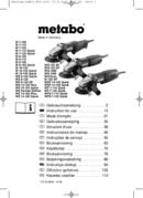 Metabo W 7-115 Seite 1