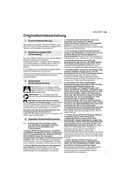 Página 5 do Metabo W 18 LTX 115