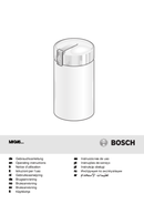 Bosch MKM6000 side 1