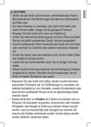 Página 3 do Clatronic CPM 3529