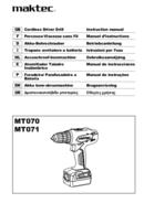 página del Maktec MT071 1
