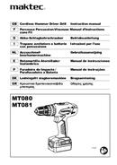 página del Maktec MT080 1