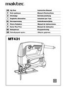 página del Maktec MT431 1