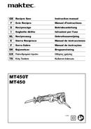 página del Maktec MT450T 1