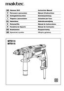página del Maktec MT814 1
