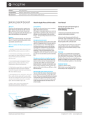 Mophie Powerstation boost page 1