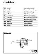 página del Maktec MT401 1