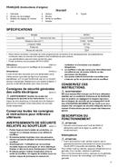 página del Maktec MT401 5