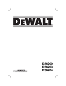 DeWalt D26204K side 1